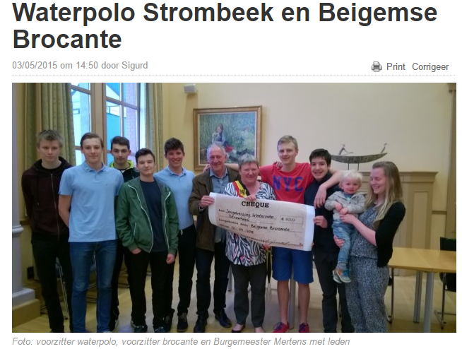 Waterpolo Strombeek